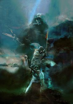 Star Wars: Episode IV - A New Hope by Christopher Shy - Home of the Alternative Movie Poster -AMP- Dead Space, Beetlejuice, Blade Runner, Star Wars Zeichnungen, Images Star Wars, Illustrator, Star Wars Episoden, Alternative Movie Posters, Movie Poster Art