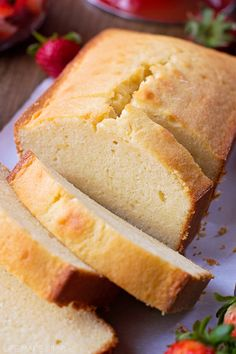 Recipe; Vanilla Bean Pound Cake