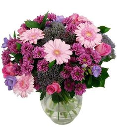 Beautiful and sweet bouquet of flowers to dazzle someone special in your life. Make someone life colourful, beautiful and joyful. Order Flowers, Love Flowers, Beautiful Flowers, Flower Delivery Service, Online Florist, Flowers Delivered, Pink Bouquet, Pink Roses, Lilac