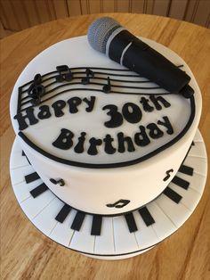 Birthday cake for a karaoke lover!
