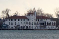 Detroit Boat Club - Today, it's a crumbling landmark on Belle Isle, but the Detroit Boat Club is steeped in history.    The building was dedicated on Aug. 4, 1902, and was the first concrete structure in the country.    Sadly, the DBC abandoned its home in 1996. Today, it's used only by crew teams and needs millions in work.    More on this building of Detroit coming soon.