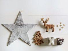 festive flat lay