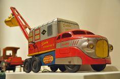Wyandotte Toy Truck Crane