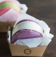 Taeguki Ice Cream Macaron Sandwiches | Kirbie's Cravings | A San Diego food blog