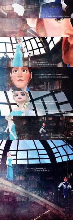 Moment [Hans x Elsa] by simplifiedwords.deviantart.com on @deviantART