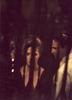 Charlotte Rampling & Mark Strong photographed by Paolo Roversi - Vogue UK: 2005 - Heroine, Murder in Mind  (via:believableillusion)