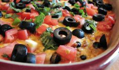 Loaded Enchilada Casserole