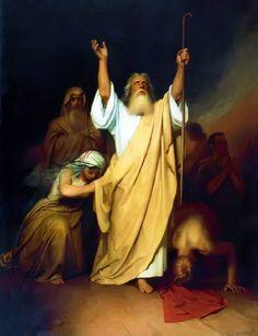 Prayer of Moses Before Israelites Passed Through the Red Sea_Ivan Kramskoi_c.1861