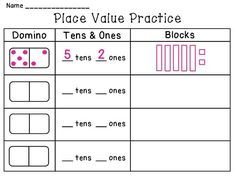 Place Value math stations that are ready to print and use right away & a lot of other math stations!