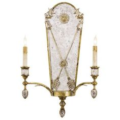 Napoli Wall Sconce by Currey