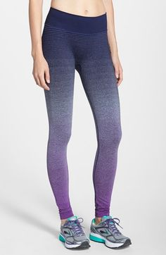 Brooks+'Streaker'+Ombré+Running+Tights+available+at+#Nordstrom