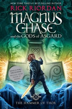 Magnus Chase and the Gods of Asgard, Book 2 The Hammer of Thor by Rick Riordan. Magnus Chase and the Gods of Asgard, Book 2 The Hammer of Thor. Rick Riordan Bücher, Rick Riordan Books, Percy Jackson, New Books, Good Books, Books To Read, Children's Books, Thors Hammer, Magnus Chase Books