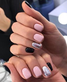 27 Recent nail art by lyuciya nails. Nude and white winter nail art combination. The post 27 Recent nail art by lyuciya nails ap Stylish Nails, Trendy Nails, Cute Acrylic Nails, Cute Nails, Hair And Nails, My Nails, Dark Gel Nails, Gel Powder Nails, Nagellack Design