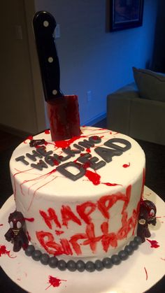 The walking dead cake                                                                                                                                                                                 More
