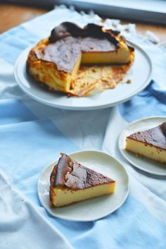 Basque Cheesecake   The Roaming Kitchen