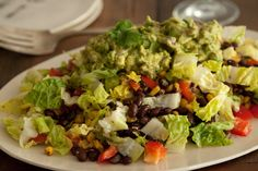 """Cowboy """"Caviar"""" Salad (basically a salsa). I was looking for a recipe for Cowboy Caviar and found this dinner idea.  What a great way to use any extra of the caviar.  SOOOO yummy!"""
