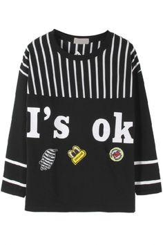 OK Printed Sweatshirt - OASAP.com