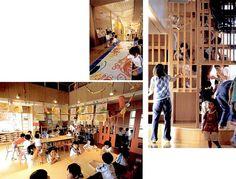houtoku kindergarten - japan Love the emphasis on play and creativity