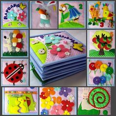 Quiet Time Activities Kids Activity Books Diy Quiet Books Felt Books Quiet Book Patterns Math Books Crochet For Kids Sewing For Kids Craft Show Ideas Diy Quiet Books, Baby Quiet Book, Felt Quiet Books, Infant Activities, Book Activities, Felt Crafts, Diy And Crafts, Sensory Book, Quiet Book Patterns