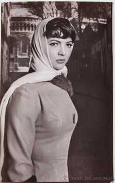 SARA MONTIEL postal de la actriz - Foto 1