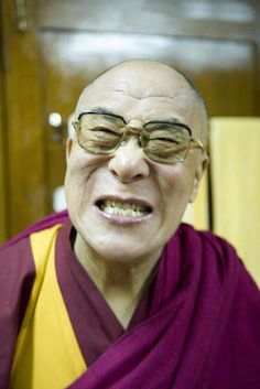 Dalai Lama.. Possibly the most enlightened man AND the cutest man alive.. :-)