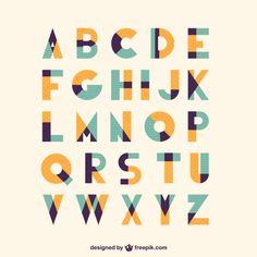 Retro vintage type font by Freepik Logo Design, Retro Design, Lettering Design, Type Design, Hand Lettering, Vintage Logo, Vintage Type, Retro Vintage, Vintage Fonts