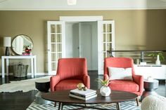 """Before & After: The """"Chilly to Cozily Charming"""" Living Room Makeover — Professional Project 
