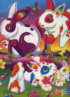 Lisa Frank - I LOVED her when I was little!!
