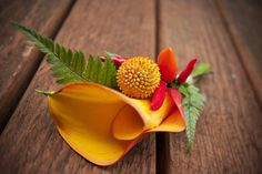 boutineers by Flying Bear Farm Flowers