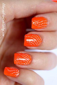 moyra-neons #Nails #Nailart