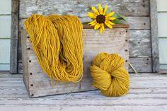 Harvest Wool - Sunflower Yellow E -21