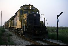RailPictures.Net Photo: TPW 2005 Toledo, Peoria & Western EMD GP20 at Lomax, Illinois by Ray Peacock-heartlandrails.com