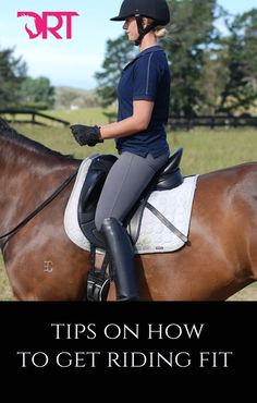 Learn how much exercise to do off the horse and what sort