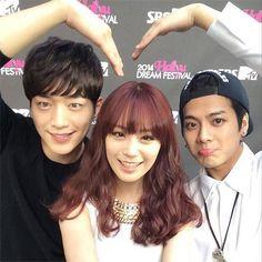 """Roommate"" Maknae Line: GOT7's Jackson, KARA's Youngji, and Seo Kang Joon"