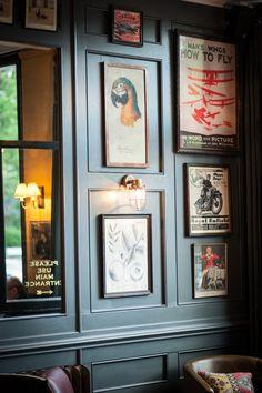 The Latchmere, London. Pub Interior, Bar Interior Design, Restaurant Interior Design, Decoration Restaurant, Pub Decor, Design Café, Design Ideas, Pub Sheds, Pubs And Restaurants