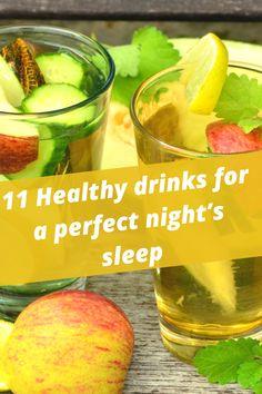 Healthy drinks for a perfect night's sleep . #Night #Sleep #LastNight #Morning #Life #SleepBetter #BetterSleep #HealthyDrinks Living A Healthy Life, Healthy Drinks, How To Fall Asleep, Healthy Lifestyle, Relationships, Skincare, Fruit, Night, Beauty