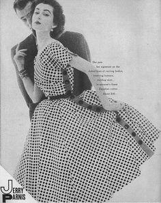 Harpers Bazaar April 1952 by dovima_is_devine_II, via Flickr