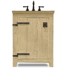 The Americana rustic sink basin by J. Tribble, Atlanta's premier manufacturer of custom sink base cabinets, vanities, and handcrafted cabinetry.