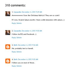 'How to number your blog comments' by #Blossom Heart Quilts 'Gettin' Bloggy With It!'