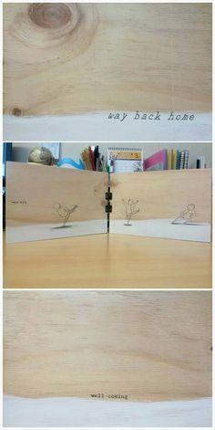 Wood book.