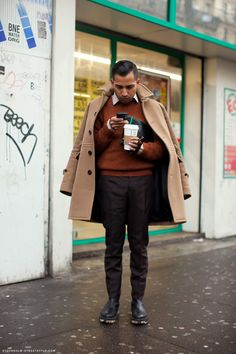 Shades of brown   StockholmStreetStyle