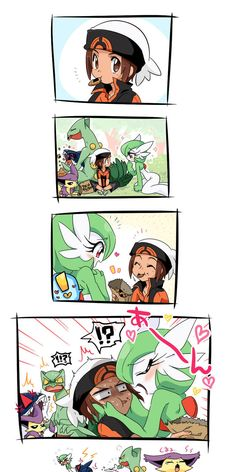 Blushed gardevoir anything and everything pokemon for Bano akira gardevoir