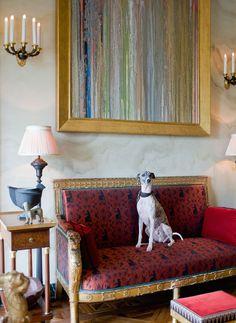Appartement classique à Paris par Jacques Garcia