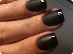 More fierce matte black.