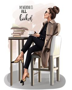 Morning guys💕and Happy Weekend💚 Illustration for Inspired by beautiful fashion blo Arte Fashion, New Fashion, Trendy Fashion, Fashion Design, Weekend Fashion, Fashion Brands, Mode Collage, Megan Hess, Dibujos Cute