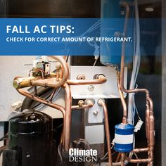 If your refrigerant is low, this could indicate other problems with your HVAC system. Call Climate Design today to schedule your preventative maintenance appointment. Espresso Machine, Schedule, Florida, Kitchen Appliances, Fall, Design, Home Decor, Espresso Coffee Machine, Timeline