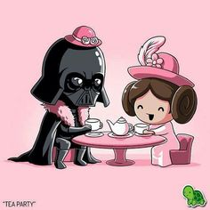 Lovely  Darth father