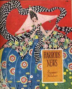 'Harrods News' 1919 Cover