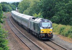 68010 Chiltern Railways Hatton Bank - Chiltern Main Line - Wikipedia Electric Locomotive, Diesel Locomotive, Uk Rail, National Rail, Rail Transport, Train Service, British Rail, Great Western, Wolverhampton