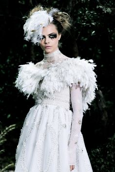 Cara Delevingne - Chanel Couture 2013